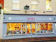 Booka Bookshop in Church Street, Oswestry