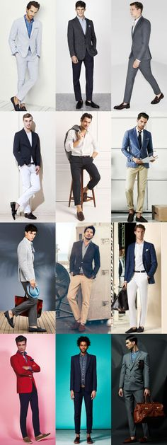 Men's Business Casual and Formal Travelling Outfits (via fashionbeans.com)