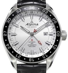 Alpina Alpiner 4 GMT White