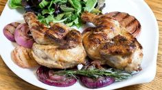 This chicken is deliciously tender, with a slightly tangy flavor and warm brown crust.