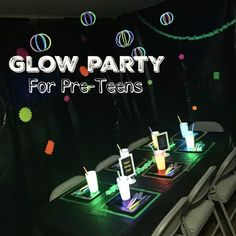Glow Party { Birthday Party for boys }