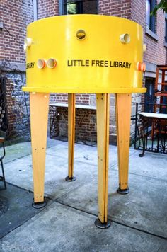 Little Free Library: Art Installations in NYC