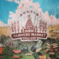Free Fun in Austin: Austin's Downtown Farmers' Market - More Than Just Veggies! (all farmers markets here) Farmers Market Austin, Downtown Farmers Market, Austin With Kids, Texas Hill Country, Free Fun, Austin Tx, Dog Friends, Things To Do, Lovely Things