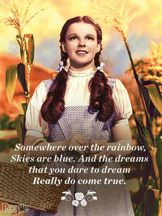 Judy Garland as Dorothy Gale SILVER SCREEN COLLECTION/HULTON ARCHIVE/GETTY - 9 Reasons We Still Watch The Wizard of Oz 75 Years Later.