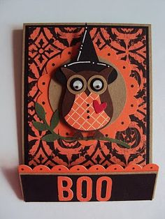 Owl Halloween Treat Holder