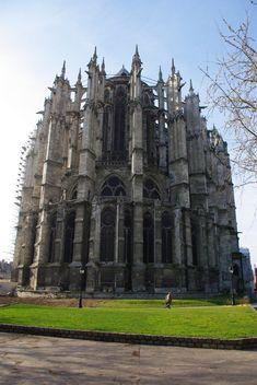 Beauvais, France. cathédrale de beauvais