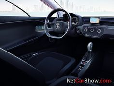 Volkswagen ••XL1•• interior (5) (NetCarShow) •world's most fuel-efficient car ever - 1st real concept car ; ) as most are just teasers for internal use, always dulled down, only briefly inspiring but ultimately frustrating w/ practicality • developed 2002 • 2-seater • 1753 lbs (< 1/2 Ford Fusion) • drag coefficient .186 vs audi A5 .31 or H2 .57! • choice: hybrid or diesel • 2c 800cc • 100km/1L or 240mpg! • EU 1st, only 400 cars?! 2016 in USA? • big neg: $140k beats saving if not rich!