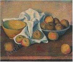 'pommes' Sale On, Auction, Canvas, Artist, Artwork, Painting, Apples, Tela, Work Of Art
