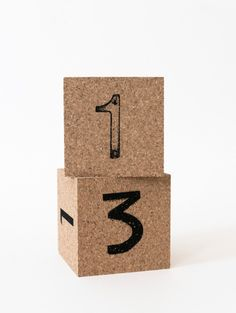 Urban Cube Calendar by Scandinavian designer Jollygoodfellow - Nordic Design Collective