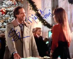 Nicolette Scorsese Signed Chevy Chase Christmas Vacation Photo ...
