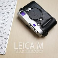 Mr.Stone Handmade Genuine Leather Camera case For Leica M M240 M240P (M-P) M262 M-M M246  Camera Bag Half Cover Vintage Case
