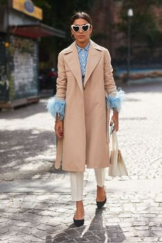 Love street style? Check out all the best looks from Milan Fashion Week.fea