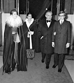 Princess Grace and Prince Rainier with their children, Caroline and Albert.   -lbk-
