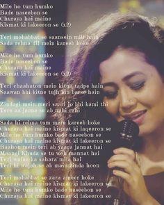 Song Still touch heart of millions Neha Kakkar, Loving U, Love Songs, Love Quotes, Lyrics, Success, Touch, Heart, Cover