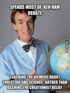 Not too sure who he is but he sounds like a good guy.   this comment though I mean I don't really care about the picture, but who the heck doesn't know who Bill Nye the Science Guy is?!