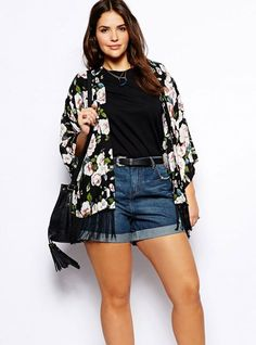 Look- Outfits para mujeres con curvas  Curvy Outfits! a39320beddb1
