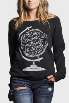 'Be the change you hope to see in the world'  Sevenly.org