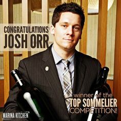 HE DID IT! Josh Orr won the TopSomm National Competition with the Guild of Sommeliers. We are so proud to have you as part of our team. Join us in congratulating him!