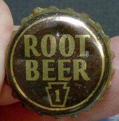 1940's Root Beer Soda Bottle Cap Used PA Tax Paid | eBay
