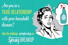 David Suzuki's Queen of Green Spring Breakup on http://www.goodgirlgonegreen.com