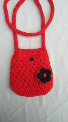 Check out this item in my Etsy shop https://www.etsy.com/listing/268839885/scarlet-red-crochet-bag-crocheted-bag