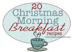 20 Christmas Morning Breakfast Recipes-Overnight and Crock Pot Recipes