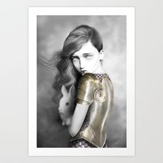 Alice Art Print by Elena Mir | Society6