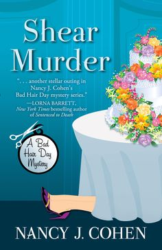 I love The Bad Hair Day Mysteries - reading Shear Murder right now (hahahaha LOVE)