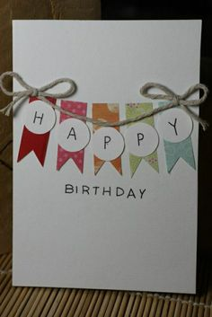 Handmade birthday card ideas with tips and instructions to make Birthday cards yourself. If you enjoy making cards and collecting card making tips, then you'll love these DIY birthday cards! Ideas Scrapbook, Scrapbook Cards, Scrapbook Ideas For Birthday, Scrapbooking Ideas, Tarjetas Diy, Handmade Birthday Cards, Card Ideas Birthday, Happy Birthday Card Diy, Birthday Greetings