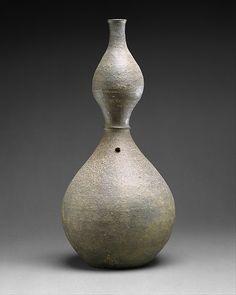 표주박 모양 병 고려  <br/>瓢形甁 高麗<br/>Gourd-shaped bottle