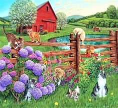 Farm Cats (342 pieces)