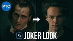 How To Get The JOKER Look | Photoshop Tutorial - Copycat #8 Photoshop Video, Photoshop Tutorial, Photoshop Training, Used Cameras, Copycat, Joker, Youtube, Graphic Design, Image