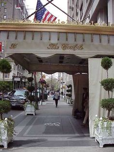 The Carlyle. Hotel where Pearl and Alexandre have that fated breakfast.