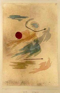 """topcat77: """" Paul Klee Scène de Chasse Aérienne """""""