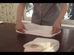 Towel folding can add style to any ordinary bathroom. AsktheDecorator.com host Meghan Carter shares three elegant towel folding techniques that add elegance to any bathroom. Her decorative towel folding ideas are easy to incorporate into your home.