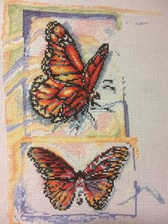 I'm too late for WIP Wednesday but wanted to share this as finally actually making progress on mine lol! #needlepoint