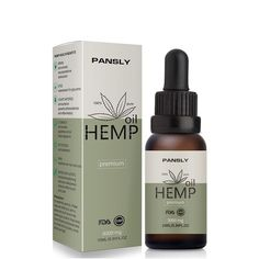 Pansly Hemp Oil, Natural Sleep Aid Anti Stress Hemp Extract Drops for Pain, Anxiety & Stress Relief, Contains cbd – Health & Beauty Essential Oils For Pain, Organic Essential Oils, Organic Hemp Seeds, Organic Oil, Natural Sleep Aids, Herbal Oil, Pure Oils, Moisturize Hair, Massage Oil