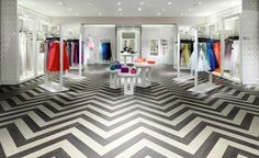 Parquet: Get ready for a revival of interest in parquet flooring in all product sectors. The classic herringbone and chevron layouts will be favourite as well. | Expona International Installation | ECORE Commercial Flooring