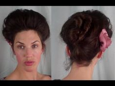 How to EDWARDIAN 'Psyche knot' Hair Tutorial (1900's 1910's hairstyle ) I love all of her tutorials!!