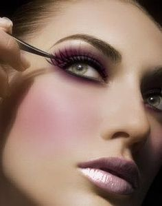 Pink and purple look #makeup