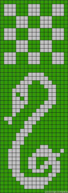 Slytherin  Harry Potter perler bead pattern