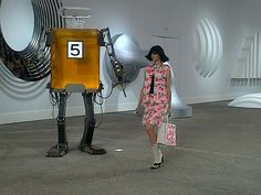 Chanel SS14 #pfw #Paris Fashion Week - @CHANEL art gallery