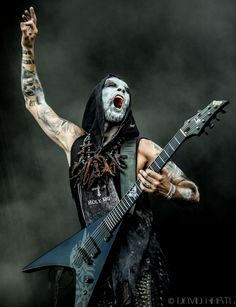 Nergal from the band Behemoth.