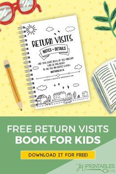 FREE Kids Return Visit Book - JW Printables