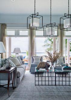 Glidden Quiet Rain HGTV Dream Home 2016 Living Room Paint Color Glidden