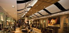 UGG Australia_ London Westfield Shopping Centre, Concrete Ceiling, Light Architecture, Ceiling Height, Covent Garden, West London, Downlights, Ugg Australia, Lighting Design