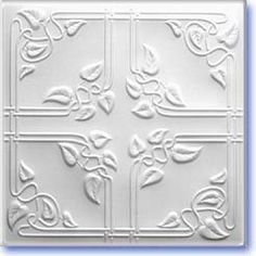 """Amazon.com: Ceiling Tiles Panels R-37 """"19""""5x19""""5 Insulated Glued Over Flat Surface, Also Glued Over Secure Popcorn,glue On,tape On!: Home & Kitchen"""