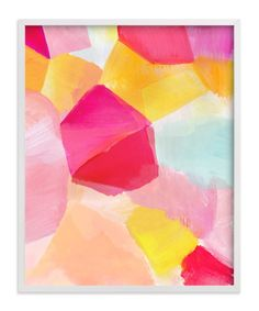 """Fragment 2"" - Art Print by Hooray Creative in beautiful frame options and a variety of sizes."