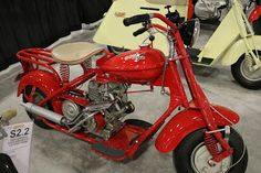 OldMotoDude: 1952 Cushman Model 765 sold for $5,750 at the 2017...