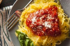 Our Skinny Spaghetti Squash with Marinara recipe will fool your taste buds into thinking you've given them pasta, while you're noshing on vegetables!